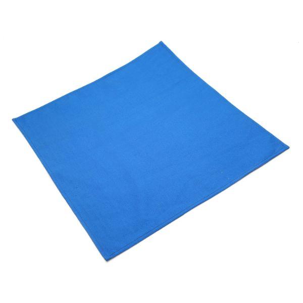 Combo 5 Cái Khăn Ăn Coban Canvas Napkin 45x45cm (Xanh)
