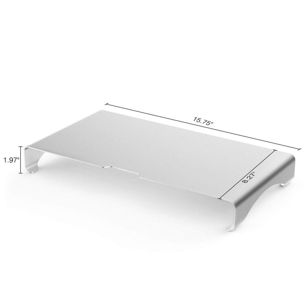 Kệ nhôm nguyên khối cho Imac, Macbook, Laptop PC ...(2 size)