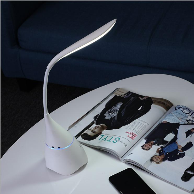 Đèn led để bàn cho học sinh chống cận thị tích hợp loa Bluetooth không dây