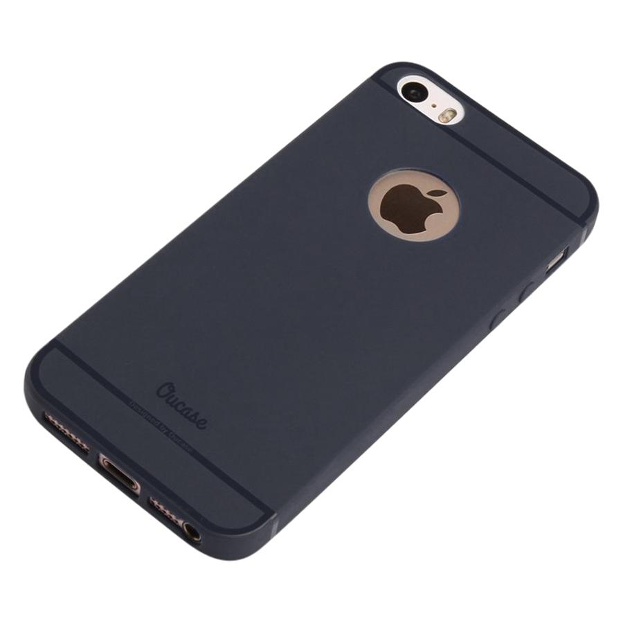 Ốp Lưng Dẻo Lovely Fruit iPhone 5  5S  5SE Vucase VUIP5-BK Đen - Hàng Nhập Khẩu