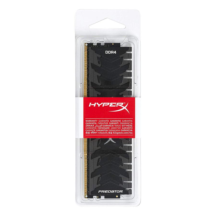 RAM PC Kingston 8GB HyperX Predator Black DDR4 3000MHz HX430C15PB3/8 - Hàng Chính Hãng