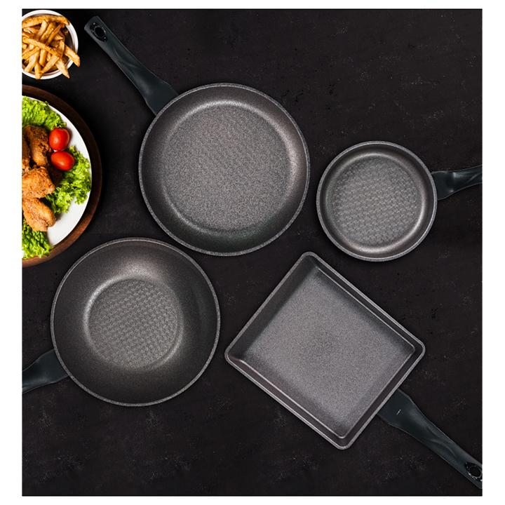 Chảo Ecoramic công nghệ Hàn Quốc chống dính vuông 20 x 23 cm