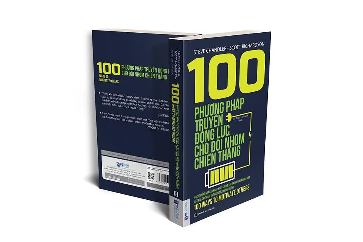 100 Phương Pháp Truyền Động Lực Cho Đội Nhóm Chiến Thắng tặng Kèm Boookmath NP03
