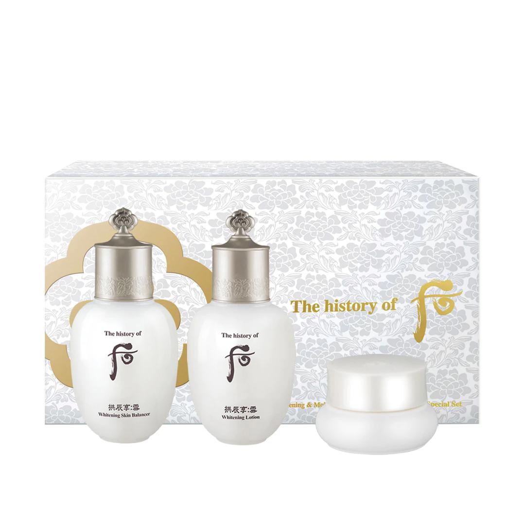 Bộ dưỡng trắng da 3 món - Whoo Seol Radiant White Special Gift Set 44ml