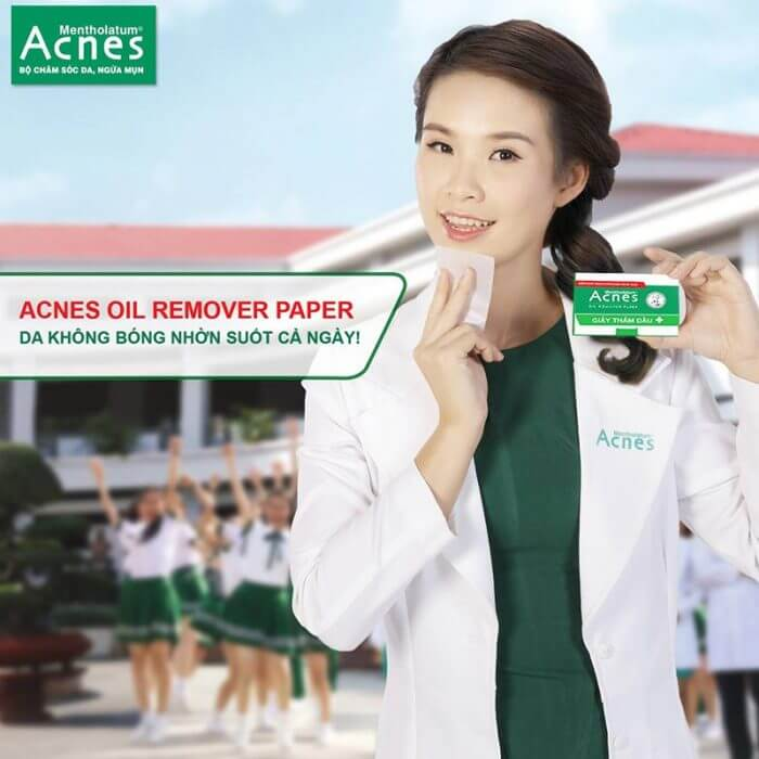 Combo 5 Hộp Giấy Thấm Dầu Acnes
