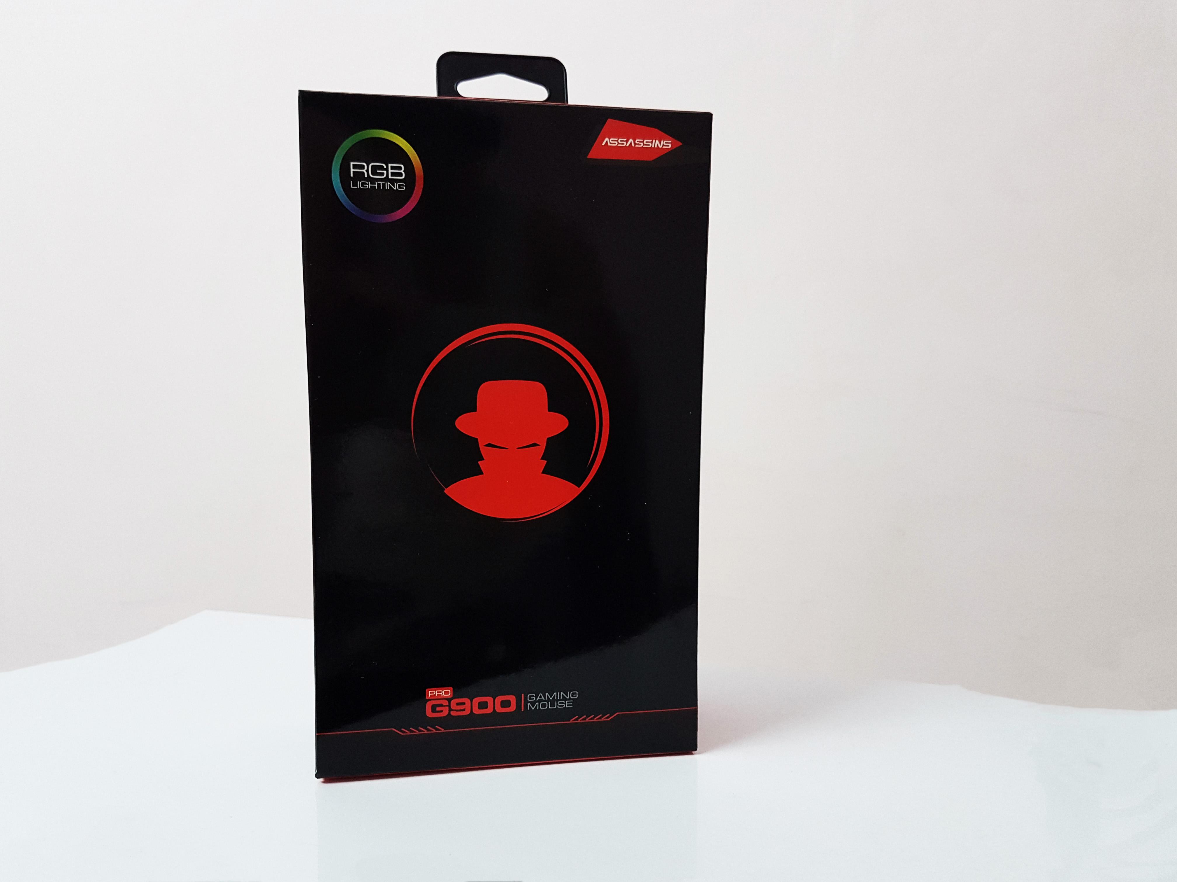Chuột gaming có dây Assassins G900 Pro - Hàng chính hãng
