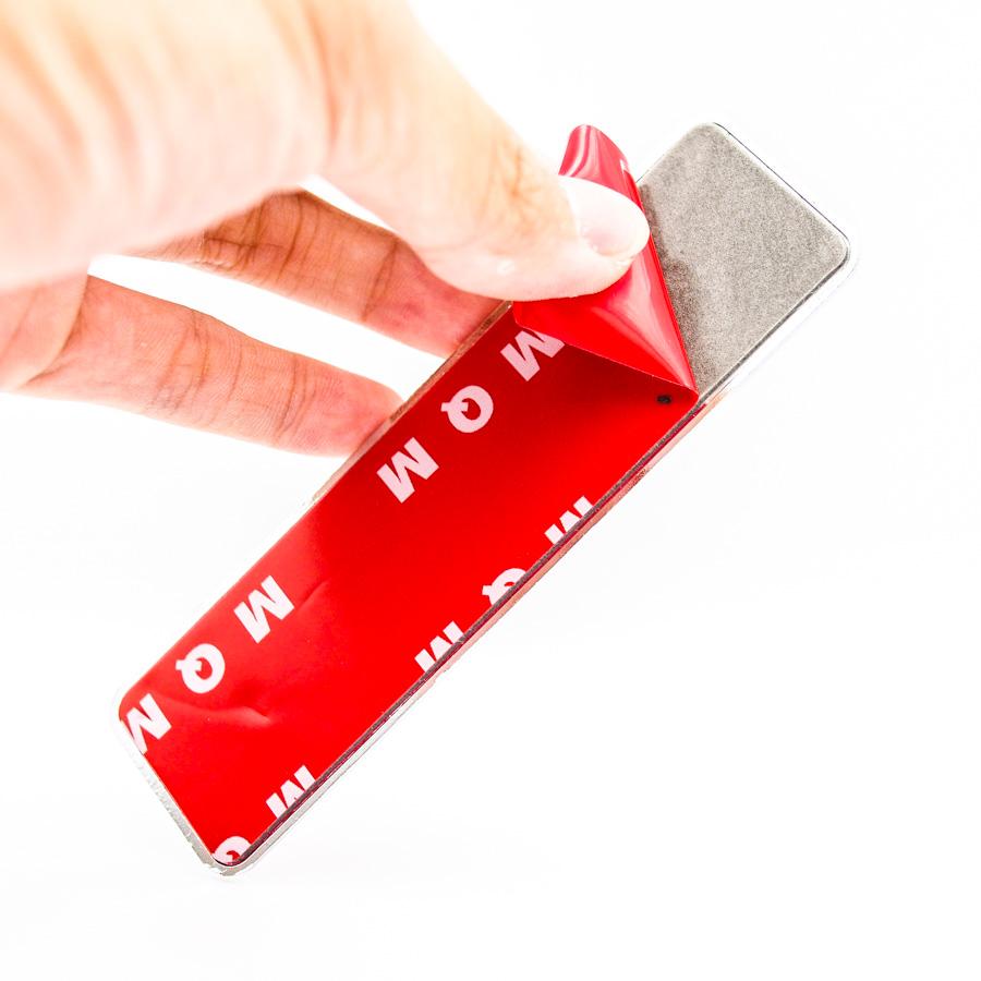 Cờ Việt Nam hình chữ nhật nhựa nổi - Sticker hình dán metal kim loại đổ nhựa Epoxy