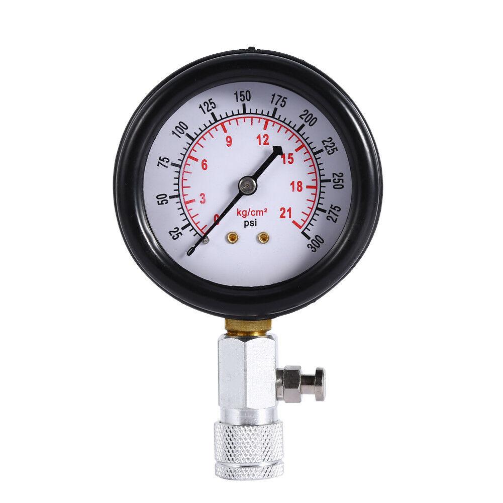 Bộ đo áp suất buồng đốt động cơ xăng ô tô, xe máy 8PC- 300 PSI - Đồng hồ đo áp suất buồng đốt ô tô