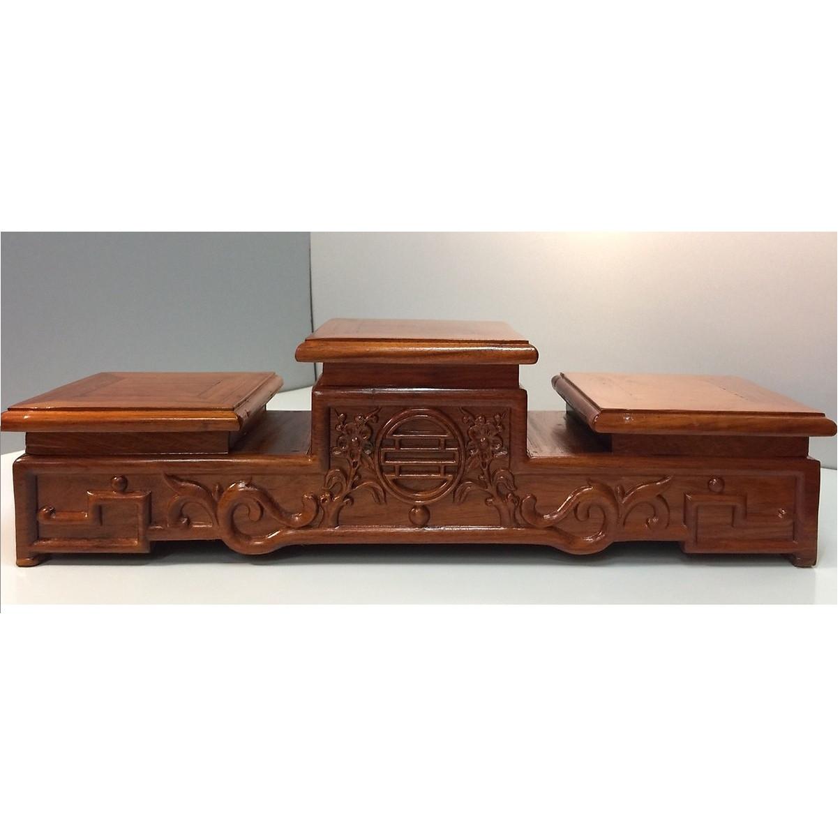 Đế đặt bát nhang 22 - gỗ hương AN1333