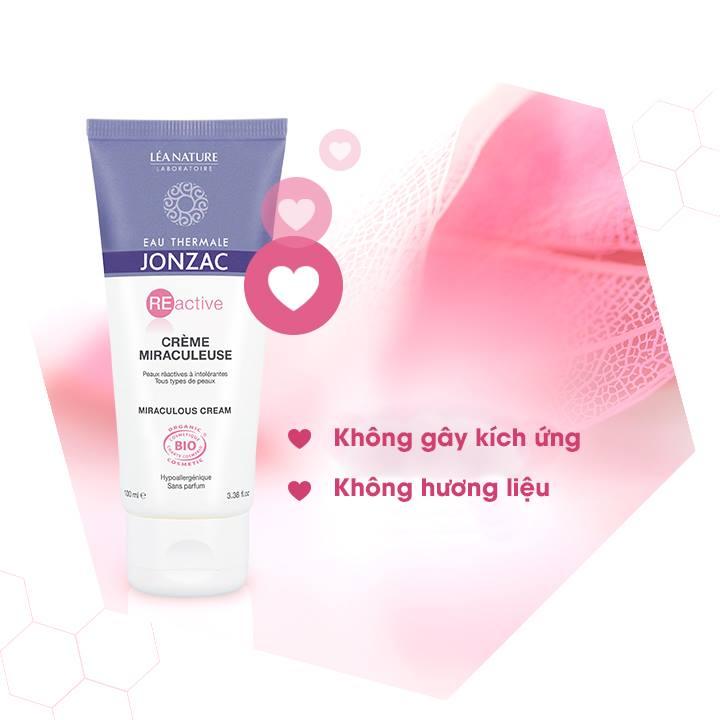 Kem Tái Tạo Nuôi Dưỡng Da Eau Thermale Jonzac Reactive Miraculous Cream 100ml