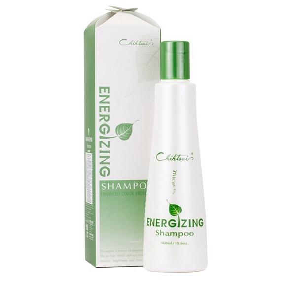 Dầu gội trà xanh CHIHTSAI Energizing shampoo phục hồi tái tạo tóc hư tổn 460ml