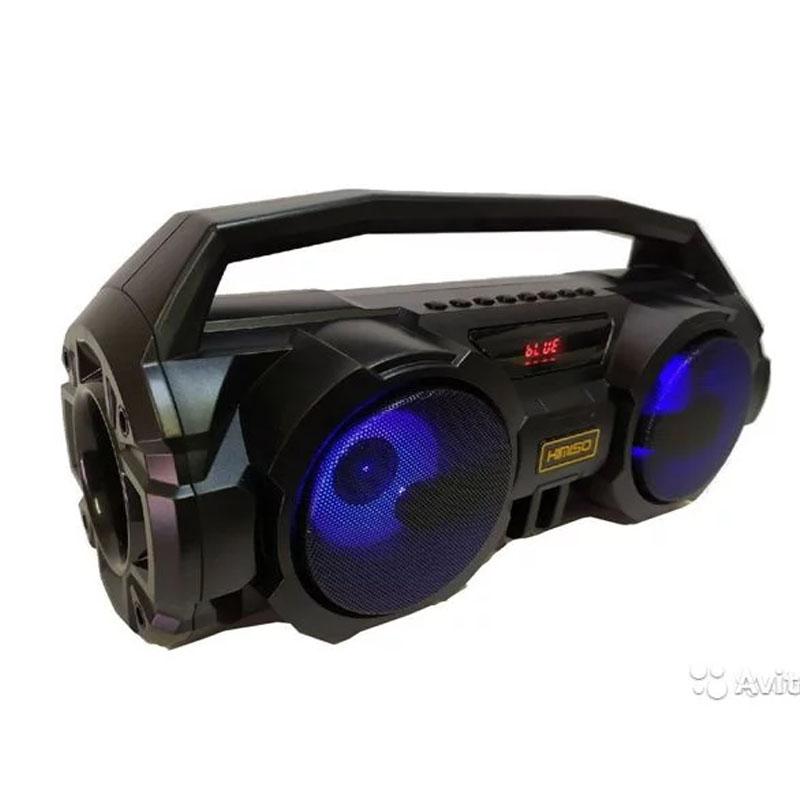 Loa Bluetooth Karaoke Xách Tay KM-S1, KM-S2 Tặng Kèm 1 Mic Hát Có Dây Cắm Trực Tiếp, Âm Bass Cực Hay, Đèn Led Sống Động + Bảo hành 6 tháng 1 đổi 1 - DC3882