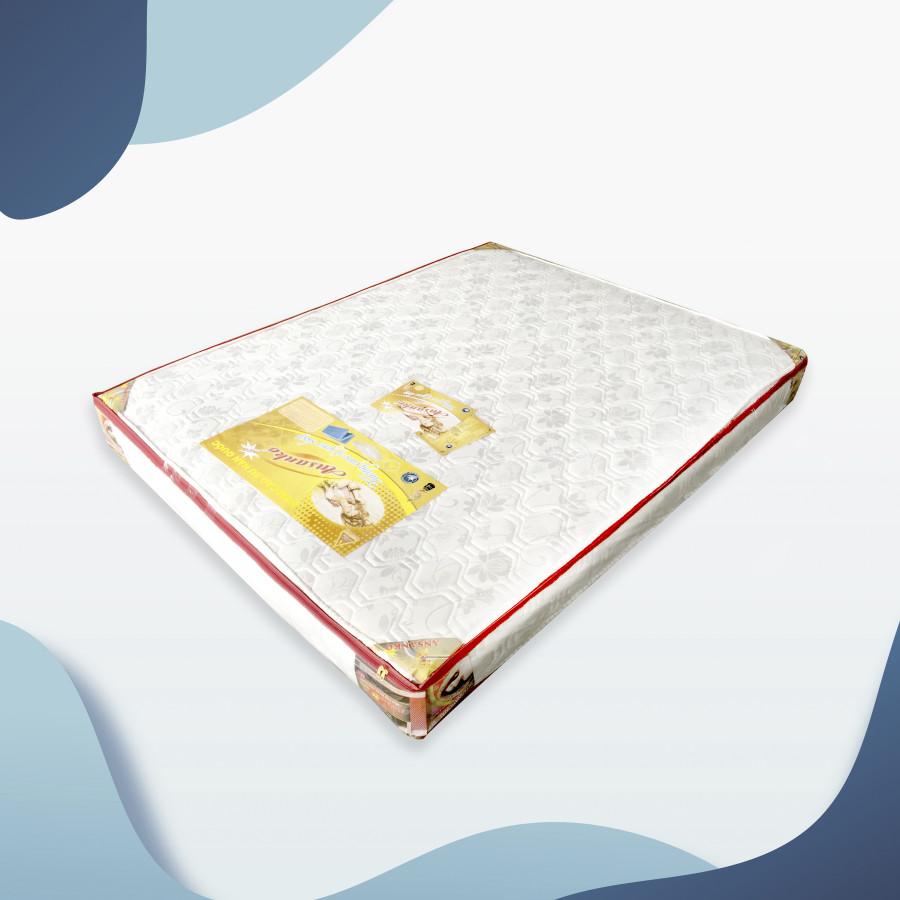 Nệm cao su Ansanko 1m4 phẳng (1.4x2.0m) vải gấm Valize cao cấp có chần - Hoa văn màu sắc ngẫu nhiên.