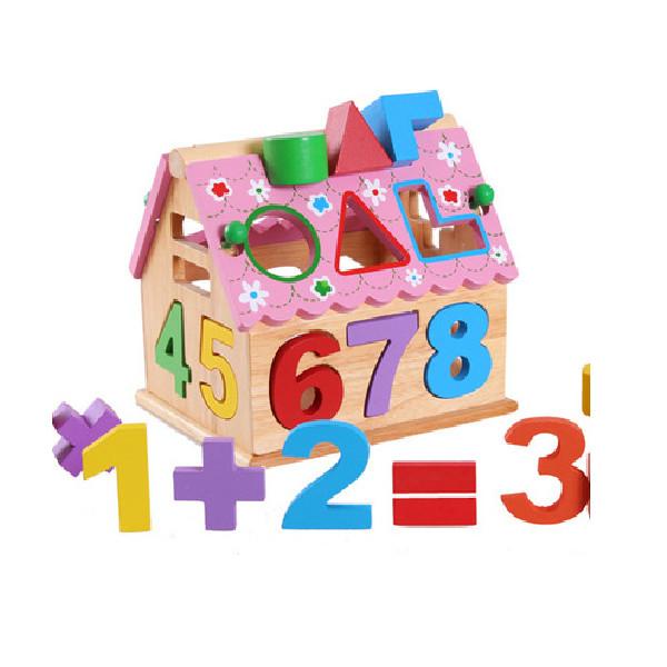 Nhà thả số và hình màu hồng GCB gh55