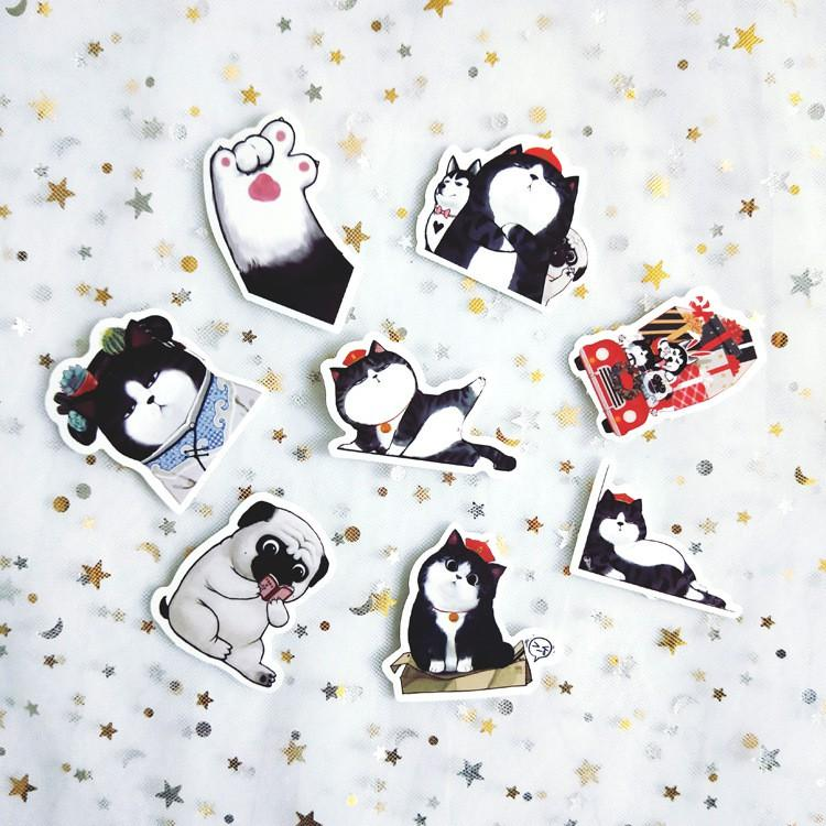 Bộ Sticker Hoàng Thượng Mèo