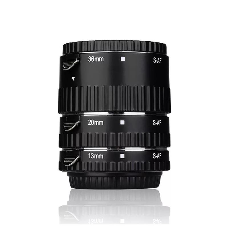 Bộ Tube macro Meike MK-S-AF1A dành cho máy ảnh Sony A ngàm SLR