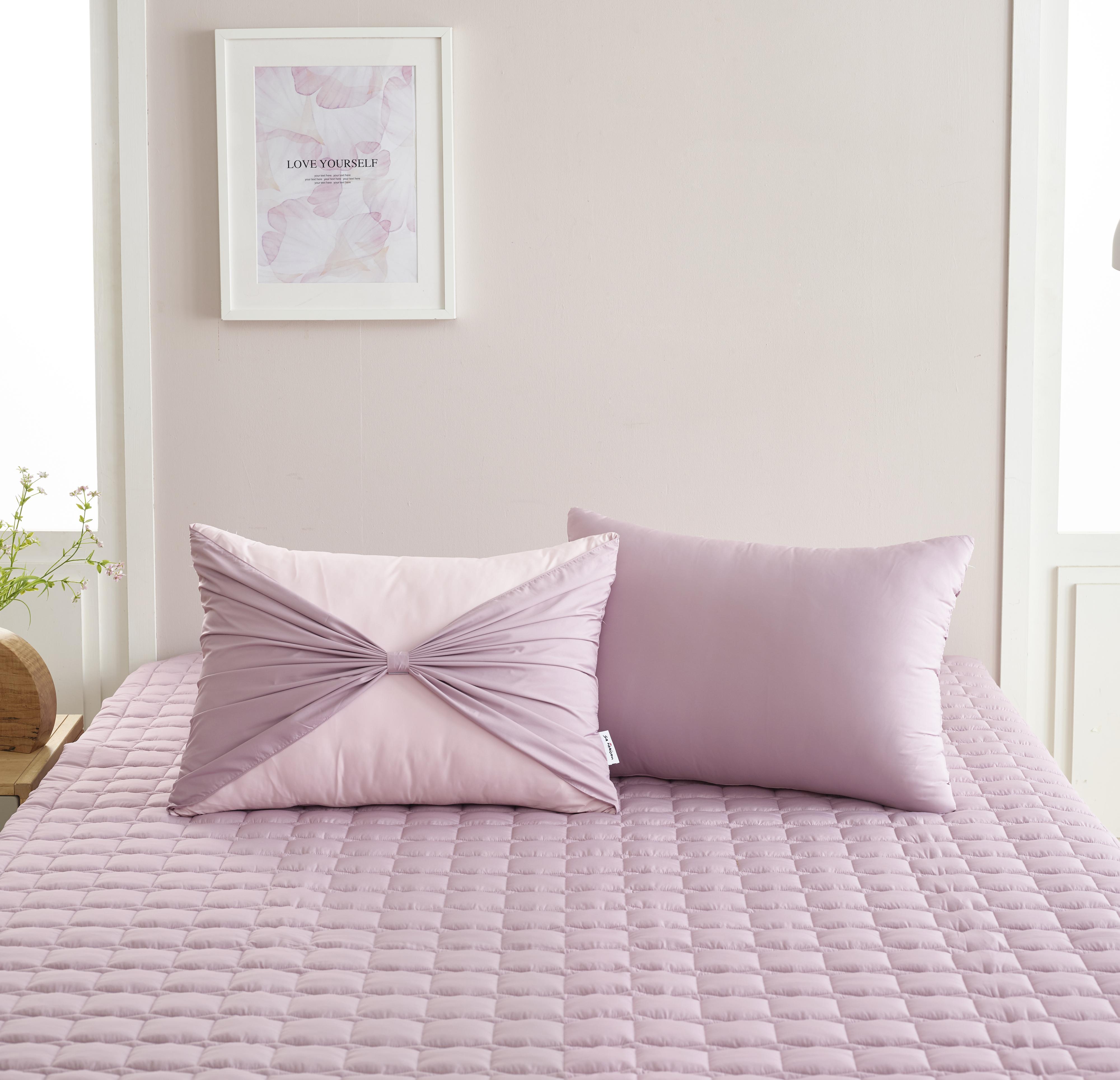 Vỏ gối nơ Sa Maison màu Blossom Pink 45*65cm
