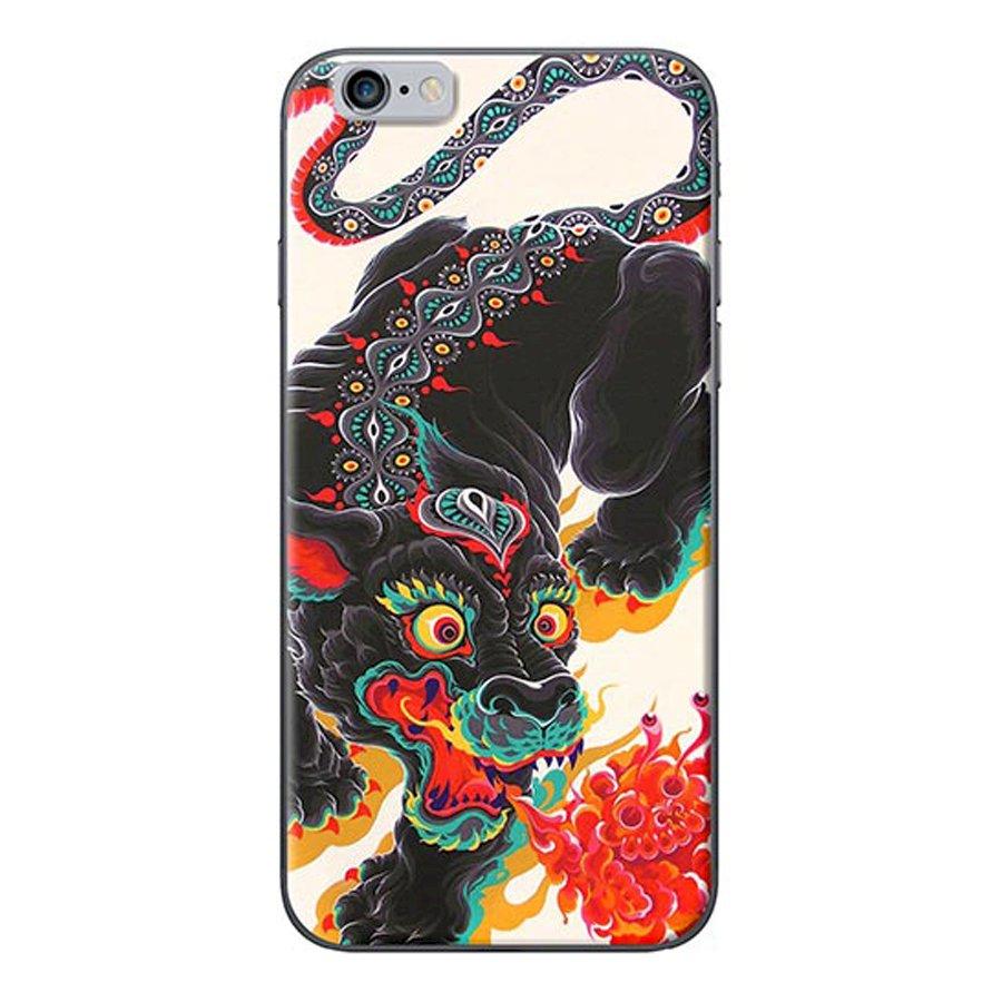 Ốp Lưng Dành Cho iPhone 6 Plus6s Plus - Kỳ Lân Đen