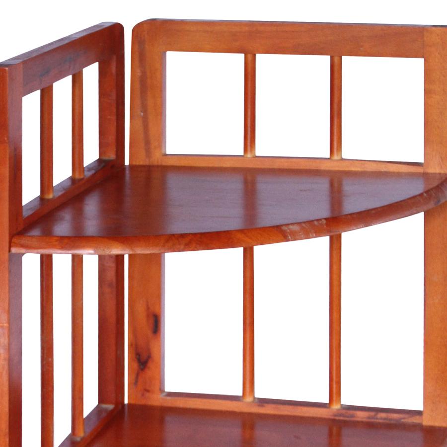 Kệ Góc Lớn 4 Tầng Phương Lâm (38 x 38 x 120 cm) - Màu Nâu