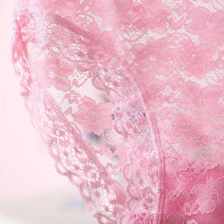 Set 2 Quần lót nữ, quần lót ren cotton siêu mềm ZBra - ZQ3808 3