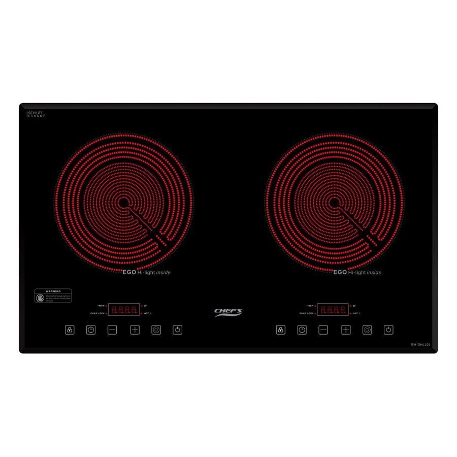 Bếp Hồng Ngoại 02 Vùng Nấu Chef's EH-DHL321 - Hàng chính hãng