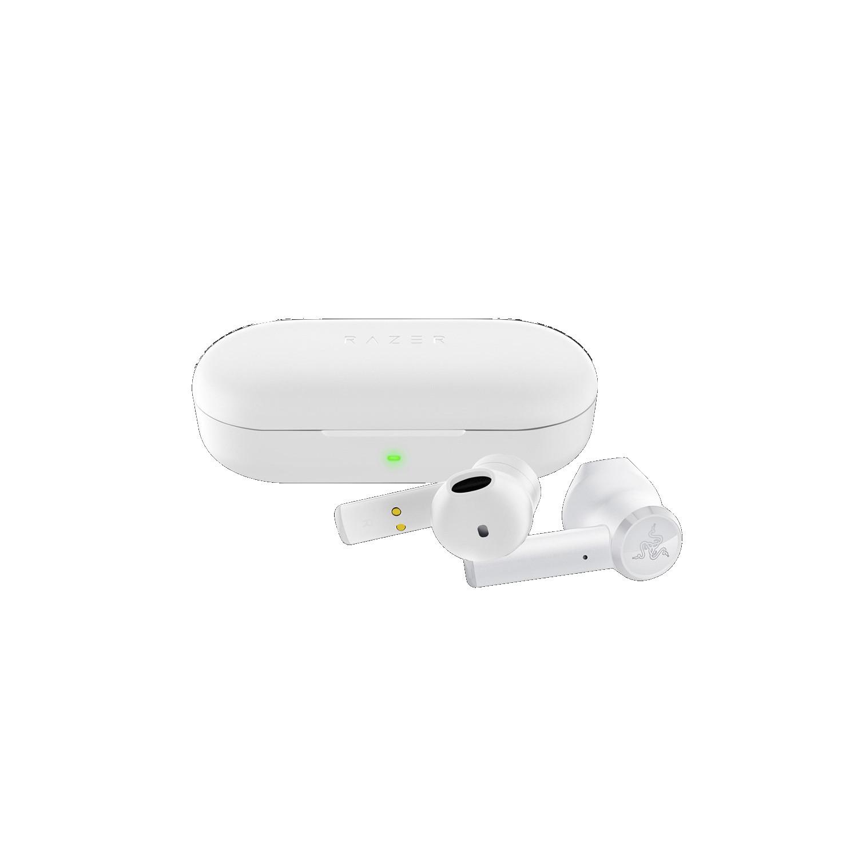 Tai Nghe Razer Hammerhead True Wireless Earbuds - Mercury  - Hàng Chính Hãng
