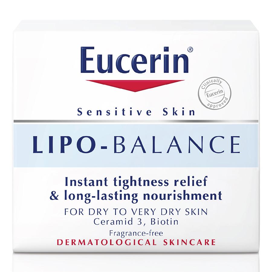 Kem Dưỡng Ẩm Cho Da Khô Và Nhạy Cảm Eucerin Lipo Balance (50ml)