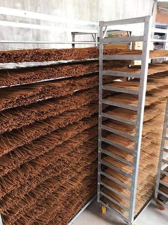 Hộp nhang sạch organic hương quế tự nhiên