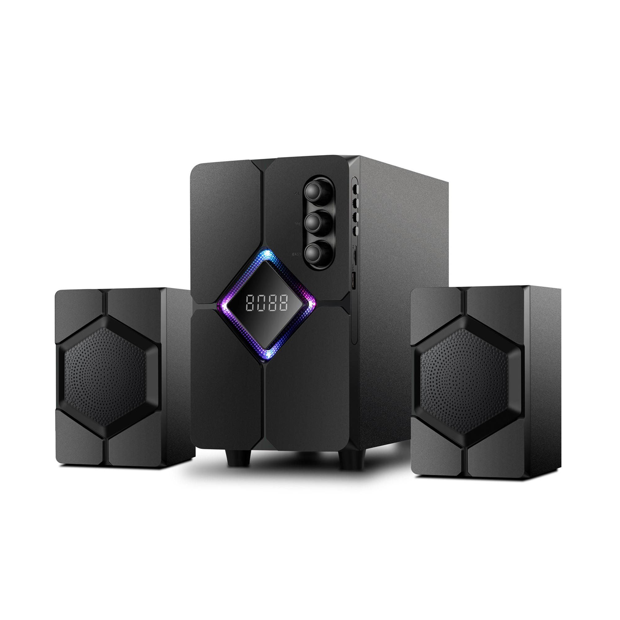 Loa 2.1 Bosston T1800-Bluetooth-Led RGB - AC 220V - Hàng Chính Hãng