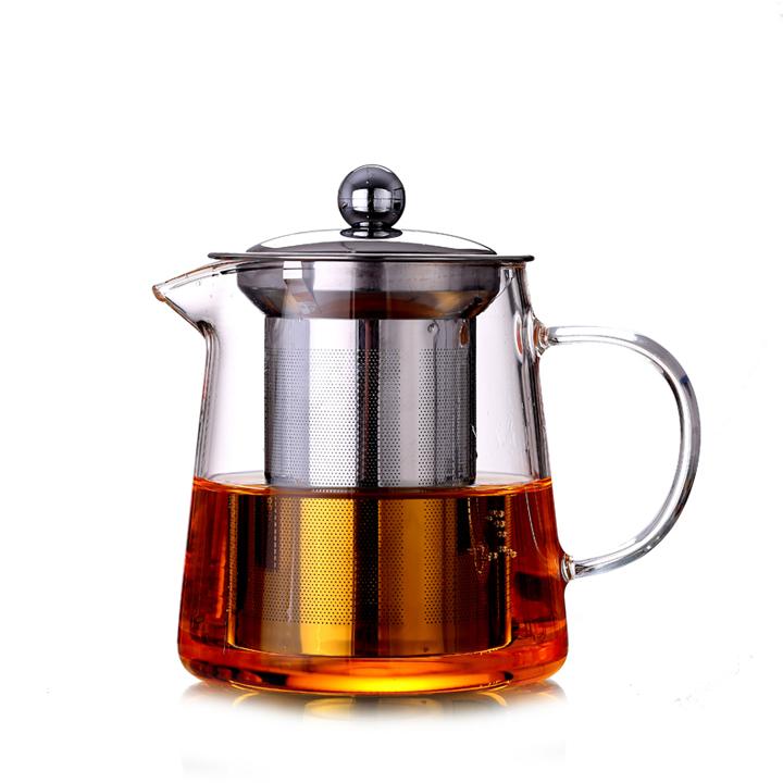 Bình pha cafe thủy tinh nắp inox lõi lọc inox