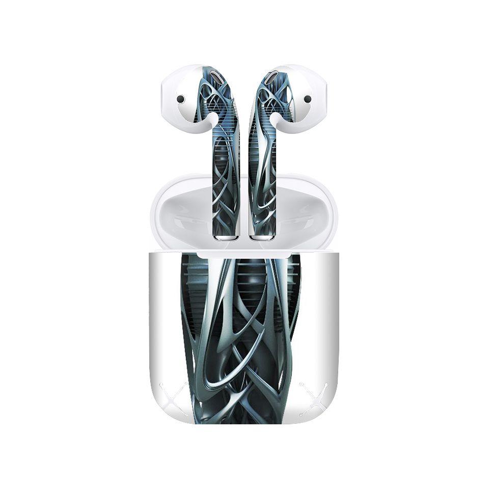 Miếng dán skin chống bẩn cho tai nghe AirPods in hình Họa tiết - HTx114 (bản không dây 1 và 2)