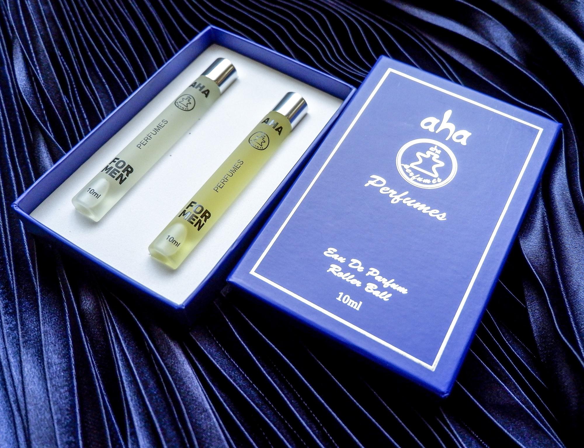 Set 02 nước hoa nam AHA998 & AHA999 (Allure Sport và Bleu) AHAPERFUMES 10ML