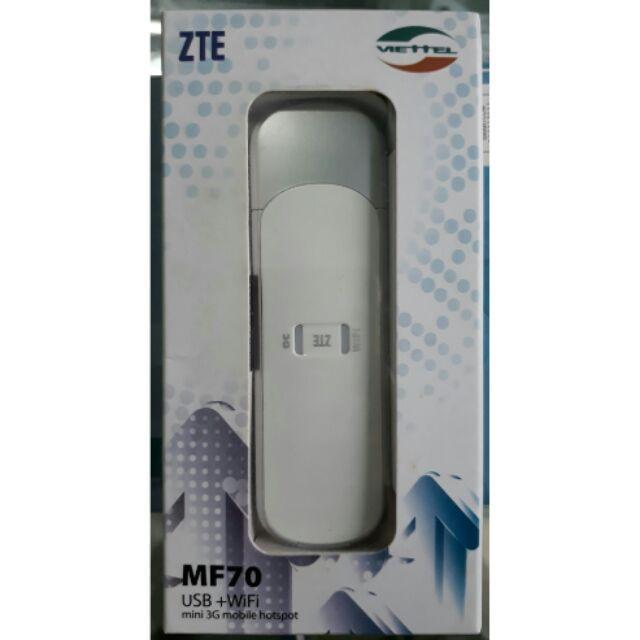 USB ZTE lắp sim phát wifi truy cập mạng cho 10 thiết bị cùng lúc - Hàng chính hãng