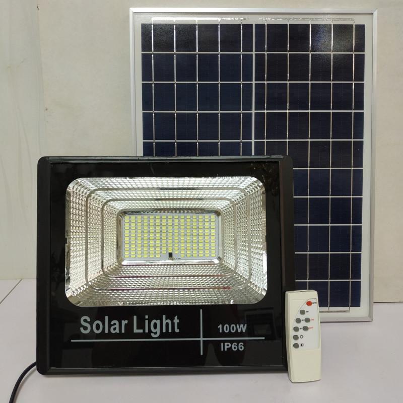 Đèn pha led năng lượng mặt trời DK312 100W