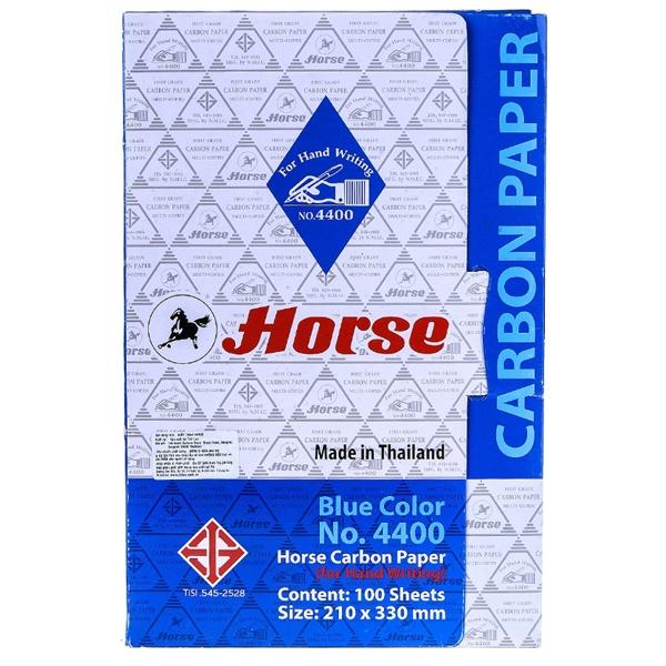Giấy Than Xanh H-4400 Horse