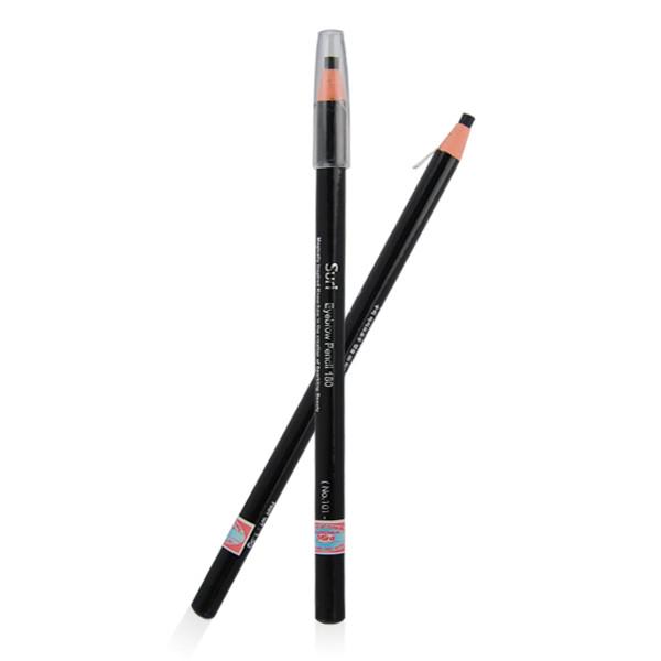 Chì mày xé Suri Eyebrow Pencil Hàn Quốc tặng kèm móc khoá - No.103 Đen nâu - 1 cái