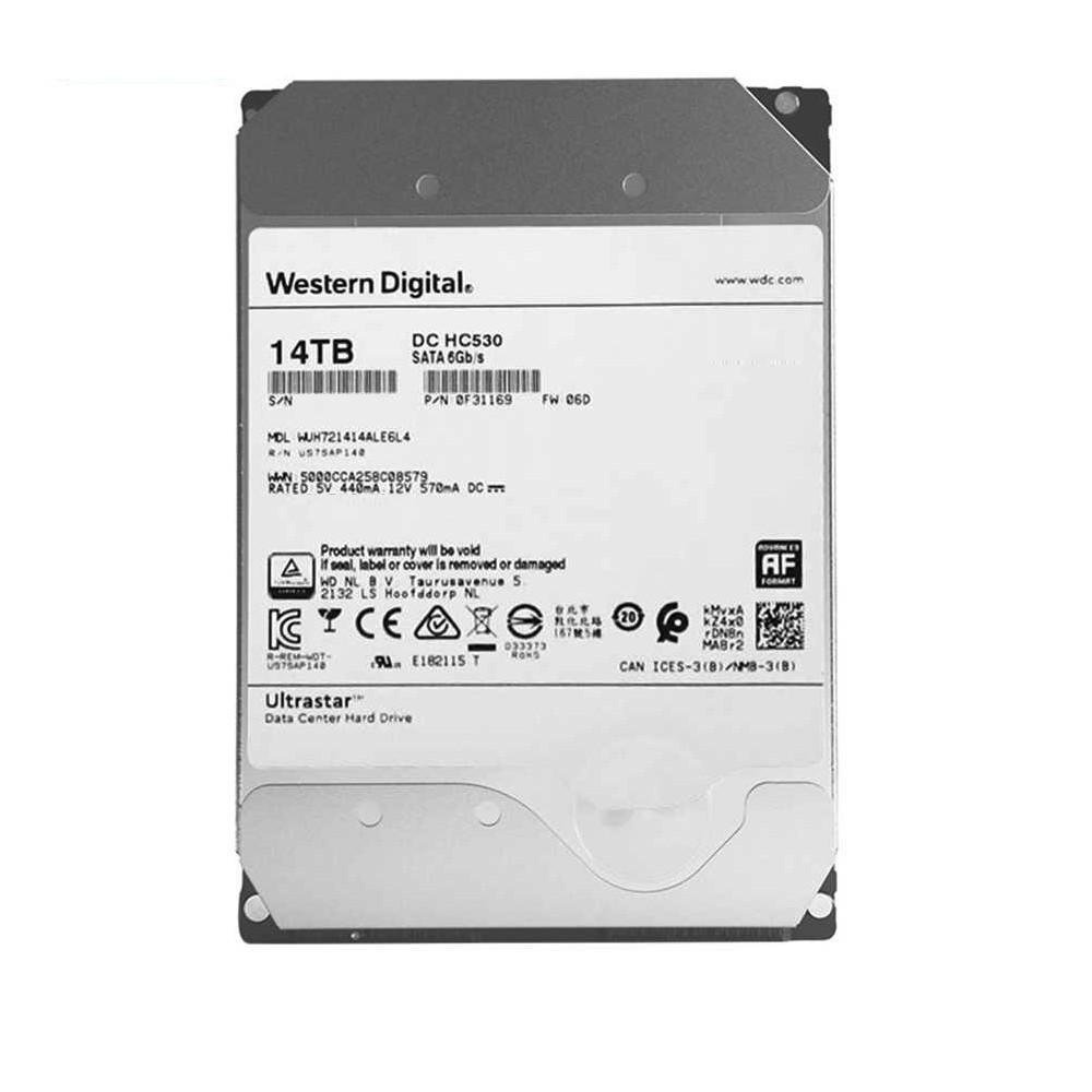 Ổ cứng HDD Western Digital Ultrastar 14TB 3.5 inch Sata 3 - Hàng Nhập Khẩu