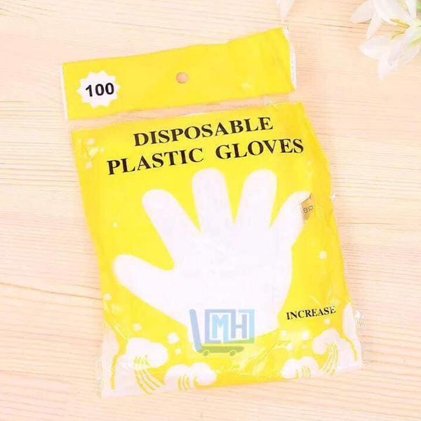 Combo 100 găng tay nilon làm bếp
