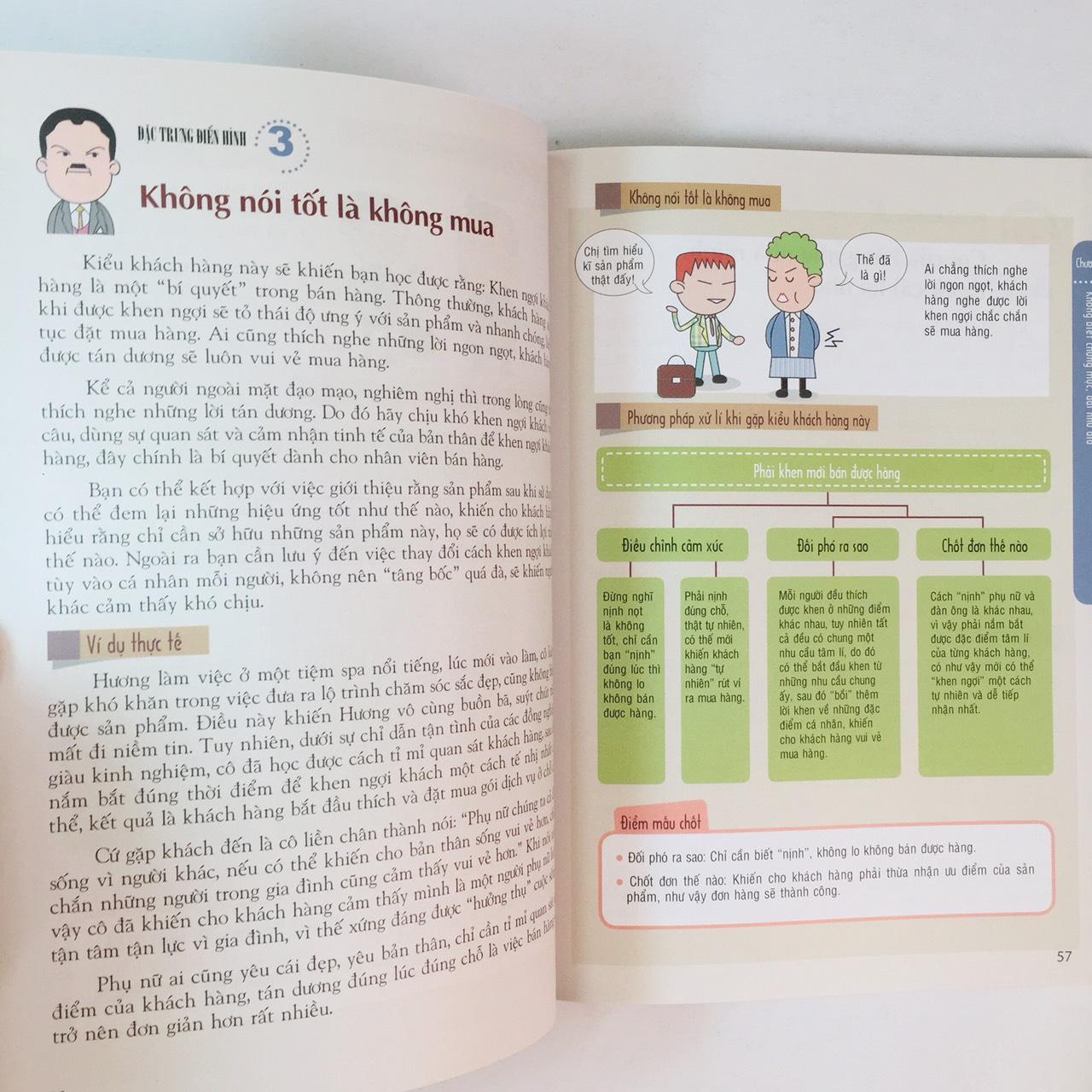 Combo 2 cuốn:  Khách Hàng Khó Vẫn Thừa Sức Đối Phó - Bí Quyết Ứng Xử Trong Bán Hàng + Ai Hiều Được Khách Hàng Người Ấy Bán Được Hàng