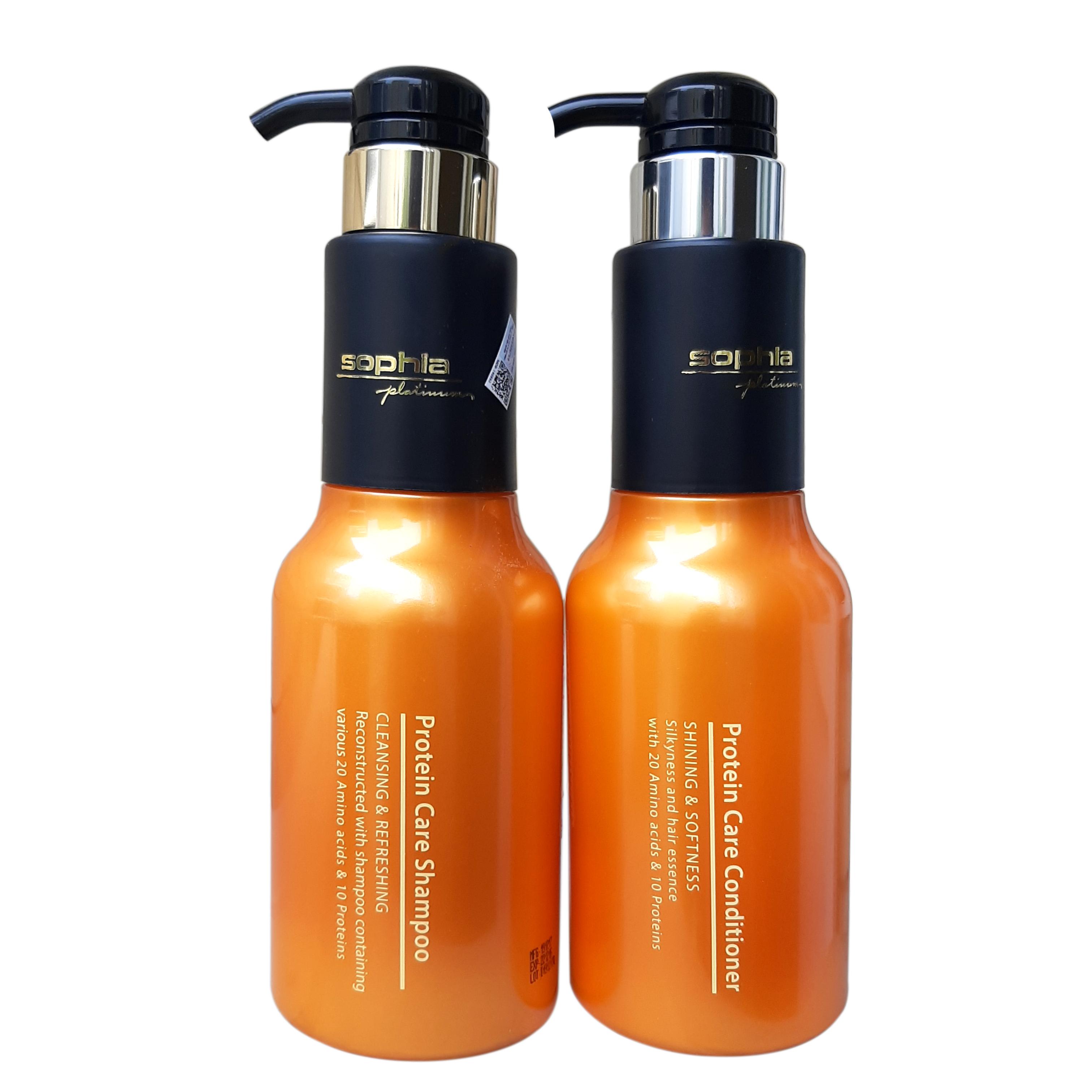 Dầu gội siêu dưỡng tóc Protein Care Sophia Platinum Hàn Quốc 500ml