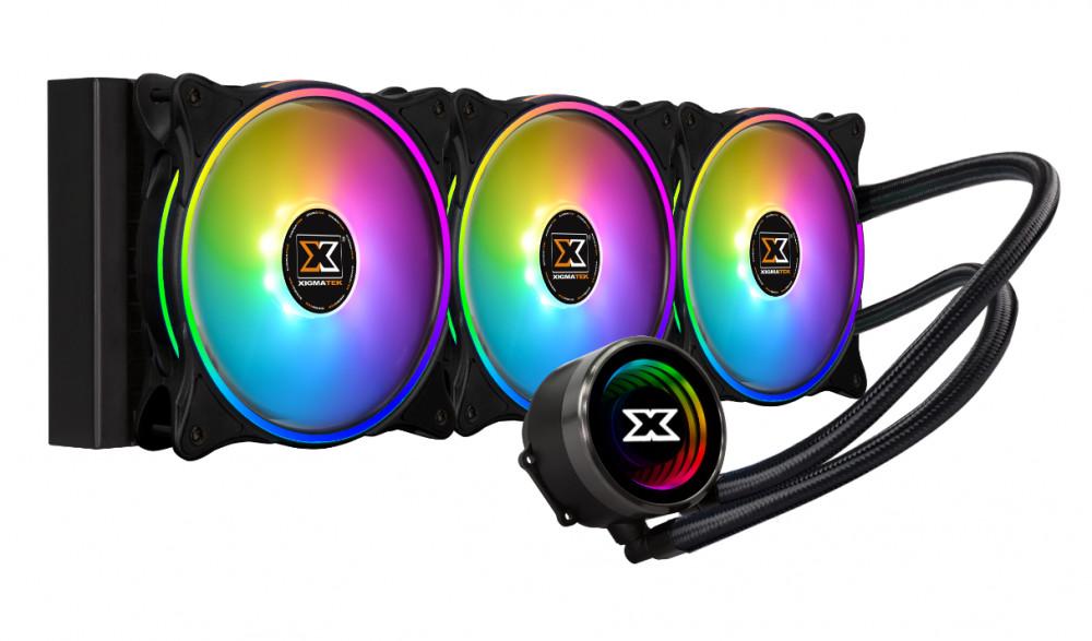 Quạt tản nhiệt XIGMATEK AURORA 360 (EN42814) - ARGB, SUPPORT AMD TR4, ALL IN ONE WATERCOOLING, - Hàng chính hãng