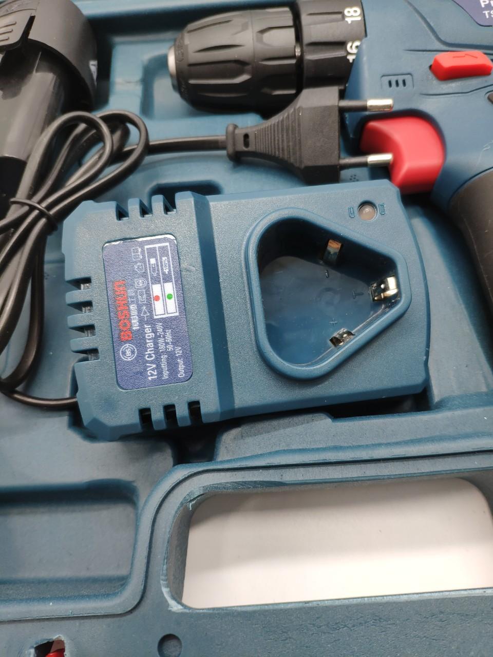 Bộ máy khoan 2 PIN sửa chữa bắn vặn vít , khoan gỗ gạch sắt -BOSHUN