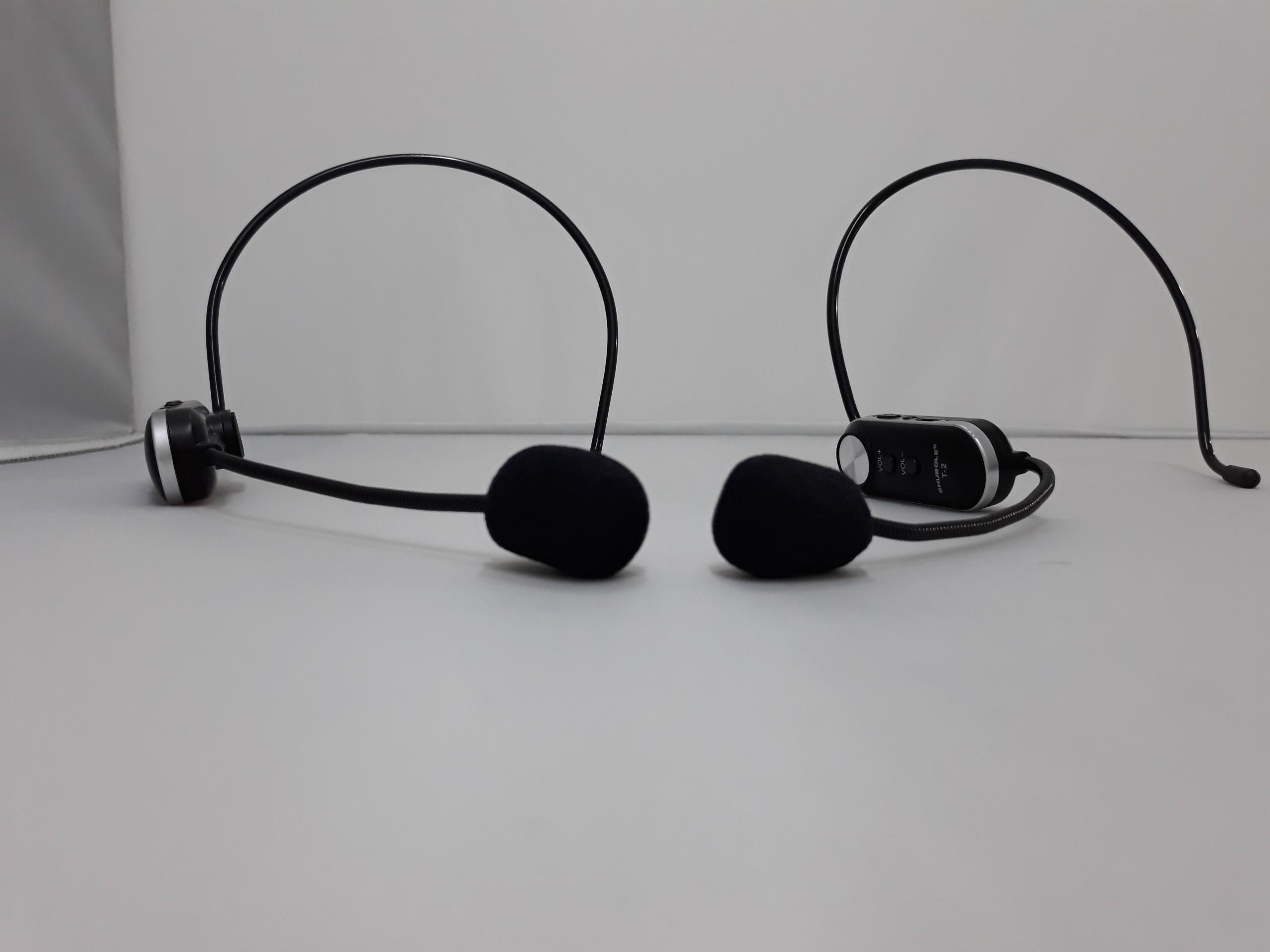 Micro Không Dây Đeo Tai Shubole T2 Chuyên Dụng Cho Loa Kéo, Amply, Đầu Thu Mini Jack 6. Chính Hãng