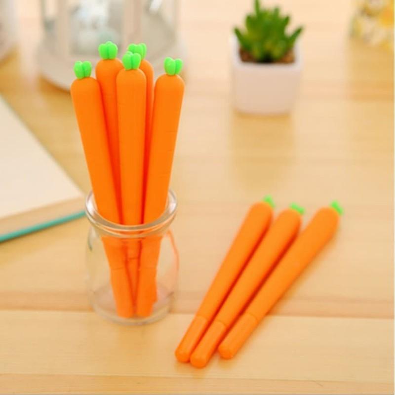 Bút mực cà rốt có thể thay màu mực cực xinh