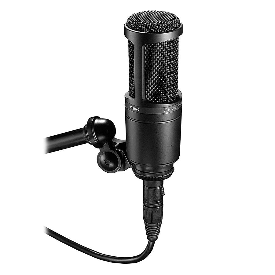 Micro Thu Âm Condenser Audio Technica AT2020 - Hàng Chính Hãng