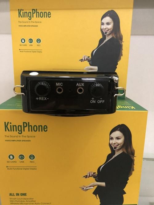 MÁY TRỢ GIẢNG HÀN QUỐC KING PHONE KP-330 PIN KHỦNG CÓ DÂY VÀ KHÔNG DÂY Hàng chính hãng.