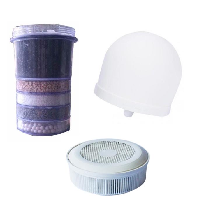 Bộ linh kiện lọc nước 3 món - Lắp đặt cho mọi bình nước
