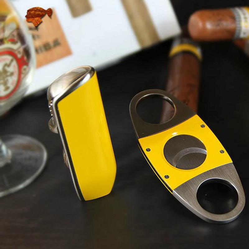 Bộ Set Dụng Cụ Hộp Quẹt Bật Lửa Khò 3 Tia Kèm Dao Cắt Cigar Cao Cấp