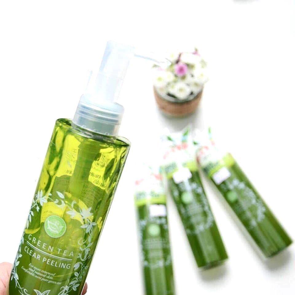 Gel Làm Sạch Da Chết Santa Marché Green Tea Clear Peeling