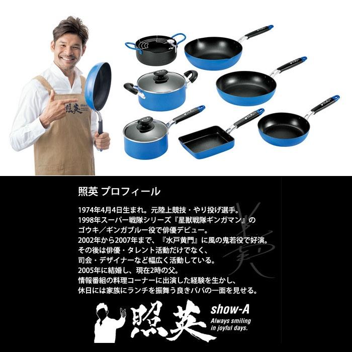 Chảo chống dính 5 lớp đáy từ Yokoyama Show-A hàng nội địa Nhật Bản